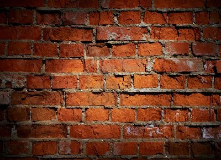 Weathered stained old brick wall background  Stock Photo - 9401249