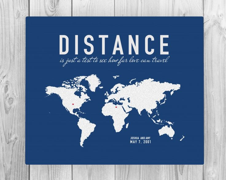 Best Long Distance Images On Pinterest Distance Long - Us map pictures of couple