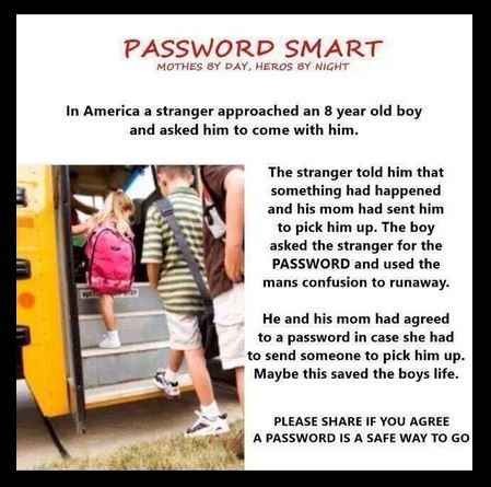 Repin. It could save a life. I had a password when I was a kid. I forgot about it till I saw this!