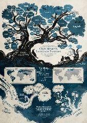 ¿De dónde vienen los idiomas que hablamos hoy en día? La ilustradora y dibujante de cómics Minna Sundberg nos ofrece algunas respuestas en este hermoso árbol genealógico que agrupa las principales lenguas de origen indoeuropeo o urálico. A …
