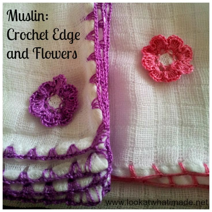 Free Crochet Flower Edging Pattern : 17 Best images about Lace, Edgings, & Tatting on Pinterest ...