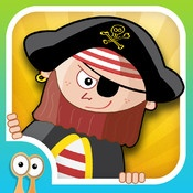 Happi & The Pirates - A Spelling, Math and Puzzle Brain Game for Kids  Use your spell-power to uncover treasure chest keys. Rely on your deductive skills to unlock troves for the tools you need to search Pirate Island for clues to the final puzzle.  Happi & The Pirates is a fast paced and visually stunning iPad learning game aimed at teachers and families with children in elementary school.