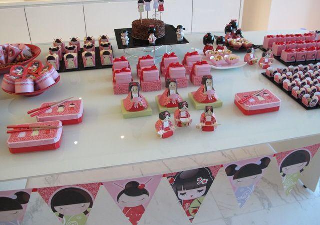 Festa Kokeshi party