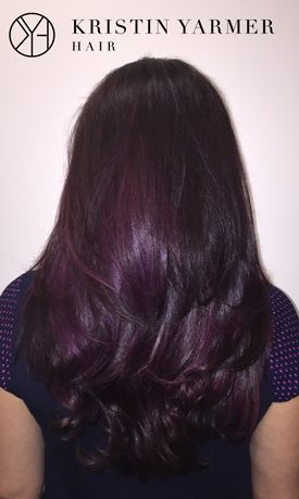 how to get aubergine hair color