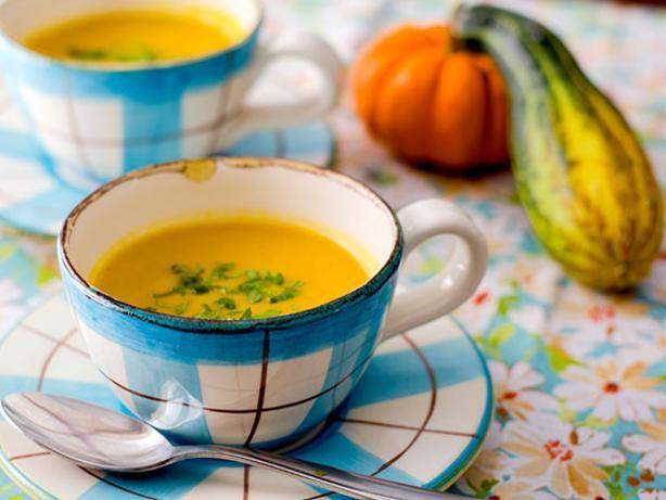 Butternut Squash and Cauliflower Soup