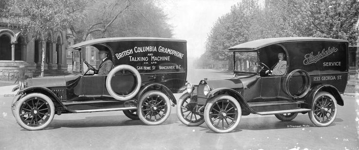 British Columbia Gramophone and Talking Machine Co. Ltd., ca. 1918 Source: Photo by Stuart Thomson, City of Vancouver Archives #99-5189