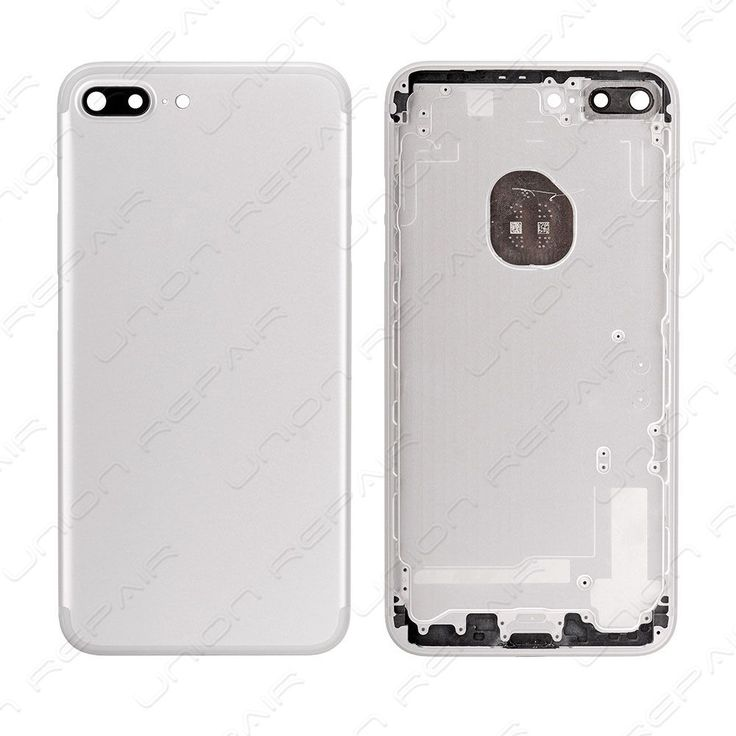 Replacement for iPhone 7 Plus Back Cover - Silver    Compatible With: Apple iPhone 7 Plus    Specification:  Color: Silver  Material: Aluminum  Compatibility: For iPhone 7 Plus    Features:      &a...