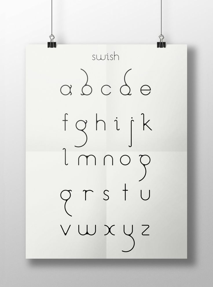 We have just released our first custom typeface in beta form. Inspired by a torn piece of fabric, Swish is now available for your personal use from http://www.dafont.com/swish.font http://ifyoubuildit.com.au/2014/06/swish-a-custom-typeface/