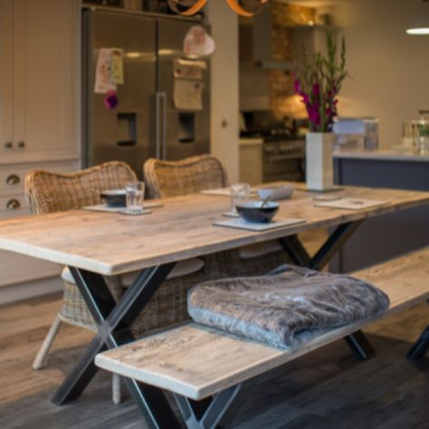 One of our ranges of Dining Tables... Bespoke sizes available.