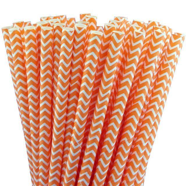 Greenmunch - Paper Straws - Orange Chevron, $4.50 (http://www.greenmunch.ca/paper-straws/standard-length/chevron/paper-straws-orange-chevron/)