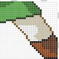 Hama Beads Plantillas Link The Legend of Zelda Spirit Tracks