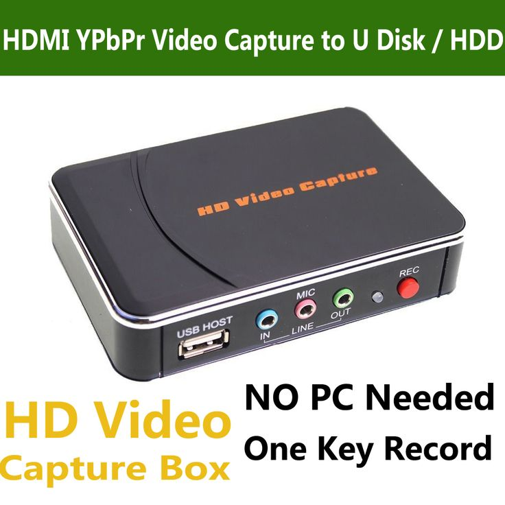 Genuine Ezcap 280 Game Video Capture Box HDMI YPbPr Recorder For Xbox PS3 PS4 TV Video Camera Medical Endoscopes Video Recording