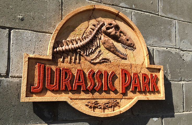 jurassic park sign - Three Dimensional Signs.