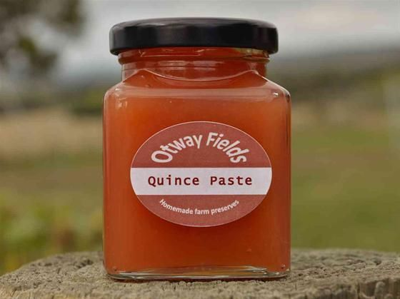 Seasonal Produce at it's best!  Quince Paste made right here on our little farm.  Available at www.farmhousedirect.com.au/otwayfields