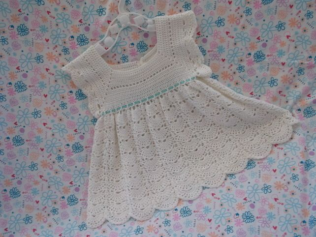 Crocheted Cotton Baby Dress £22.00