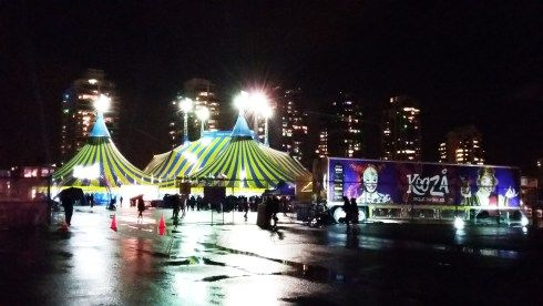 Kooza Cirque du Soleil entertains Vancouver with daredevil antics and sultry dance.