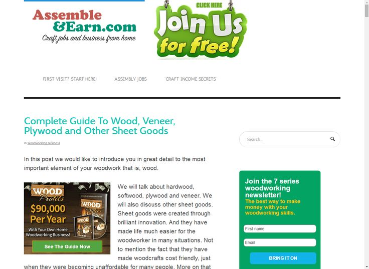 Complete Guide To Wood, Veneer, Plywood and Other Sheet Goods