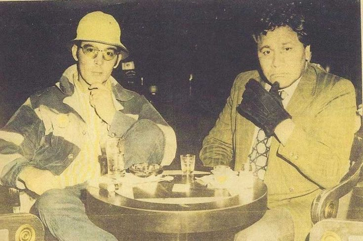 Hunter S. Thompson and his friend and attorney Oscar Zeta Acosta on their trip to Las Vegas 1971