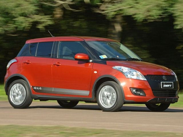 Suzuki Swift 4x4 Outdoor Edition Launched.