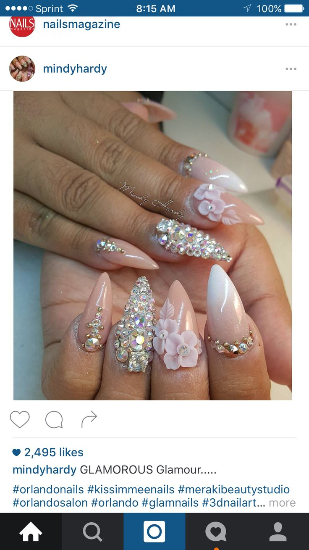 8 besten mandala nails Bilder auf Pinterest   Nagelkunst, Kosmetik ...