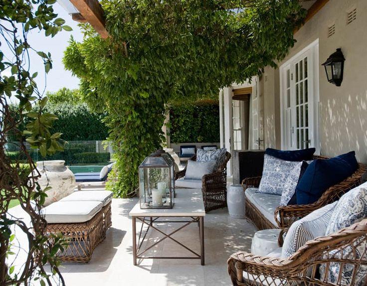 Shady alfresco patio. Outdoor - Marco Meneguzzi Design - Interior Design