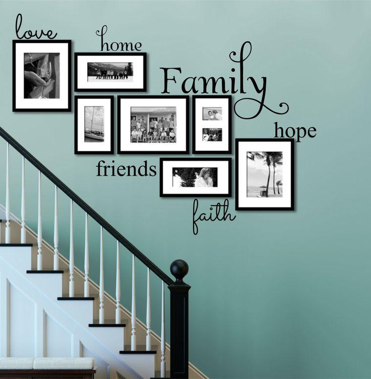 Etiqueta de la pared familia conjunto de 6 por DecorDesignsDecals