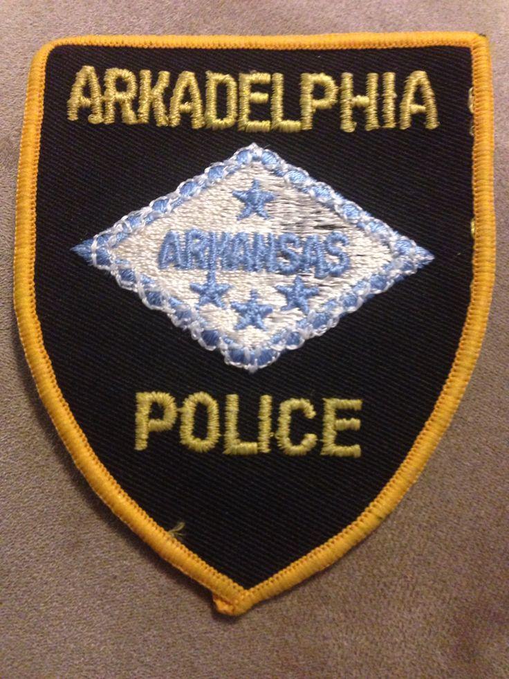 Arkadelphia PD Police patches, Fire service, Police