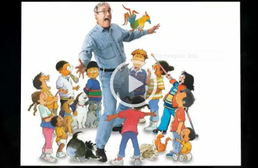 Video slide show of books is a great way to hook kids on to reading. Add a touch of music and the kids will be captivated! This is a slide show I created to introduce children to Robert Munsch's books. A great way to kick off an author study unit! Free!