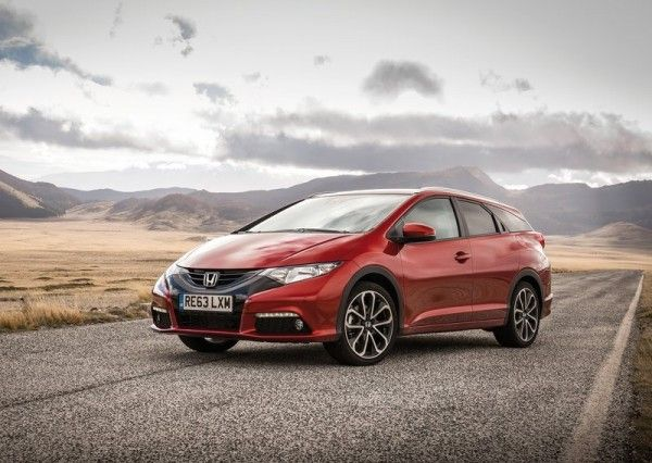 2014 Honda Civic Tourer Reds Wallpaper 600x426 2014 Honda Civic Tourer Full Review with Images