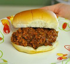 Crock Pot Sloppy Joes for a Crowd - If not feeding a crowd, divide and freeze leftovers for future meals.