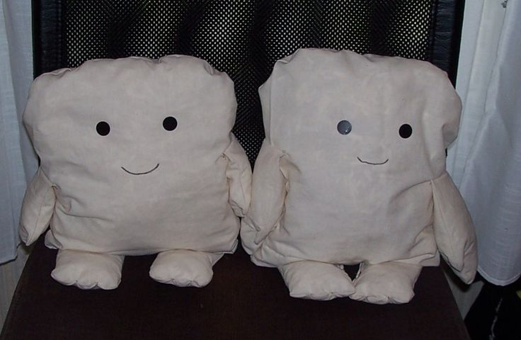 homemade ADDIPOS babies ( from Dr. Who)