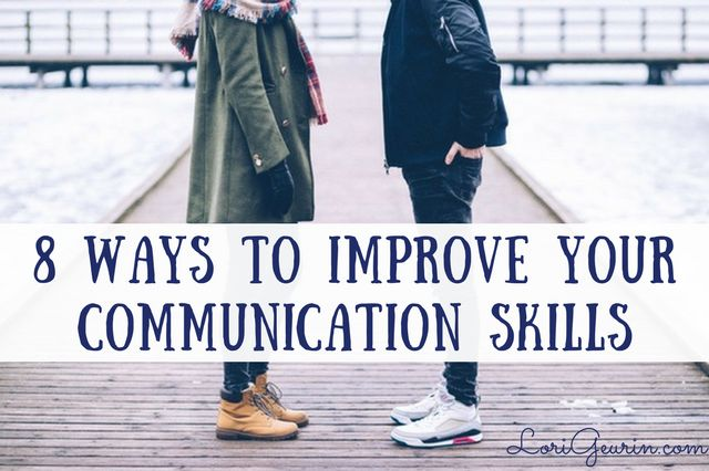 Good communication skills can help you be more successful in life. Learn how to improve your relationships with family, friends and at work too.