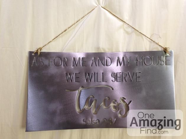 Humorous Metal Signs Catch Them Before They Re Gone These Humorous Metal Signs Feature Sayings Such As Don T Let Anyon Metal At One Amazing Find Metal