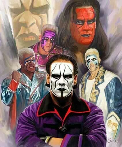 The many faces of Sting in WCW