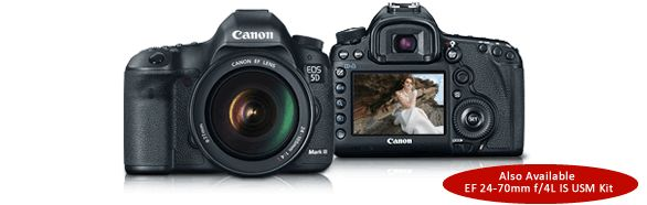 Canon U.S.A. : Consumer & Home Office : EOS 5D Mark III (Body Only)