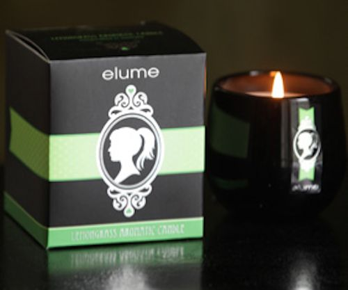 Elume Silhouettes – Lemongrass scented candle. An enlivening combination of pure essential lemongrass oil with just a touch of lime, this delightful scent will leave you refreshed, energised and rejuvenated.    With their silver-foiled silhouettes and sophisticated black block these elegant and contemporary jar candles add a stylish touch of luxury to any interior.