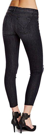 Hudson Jeans Women's Krista Super Skinny Raw Hem Jean Lalaland