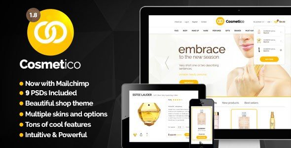Cosmetico v1.8 - Responsive eCommerce WordPress Theme - Themes24x7 - Free Premium Blogger and Wordpress Templates