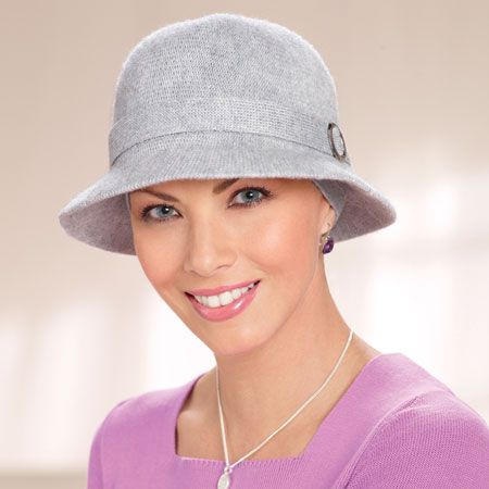 baseball caps cancer patients hats with hair for chemo knit cloche patient