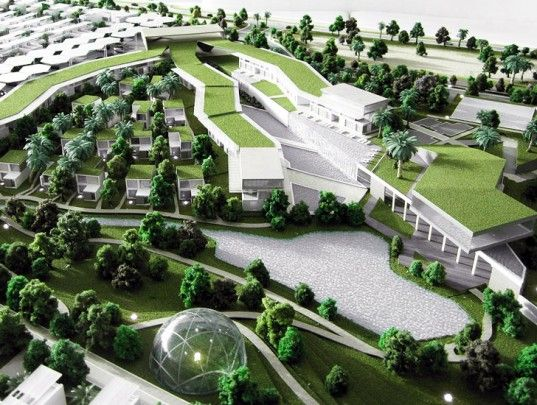 Dubai's Sustainable City Will be Powered by 600,000 Square Feet of Solar Cells
