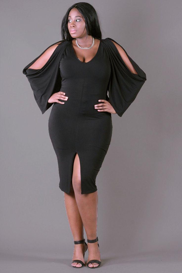 106 Best The Little Black Dress Plus Size Fashion Images On