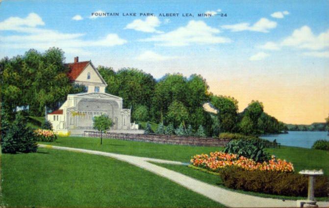 Hotel Albert, Albert Lea Minnesota, 1940's
