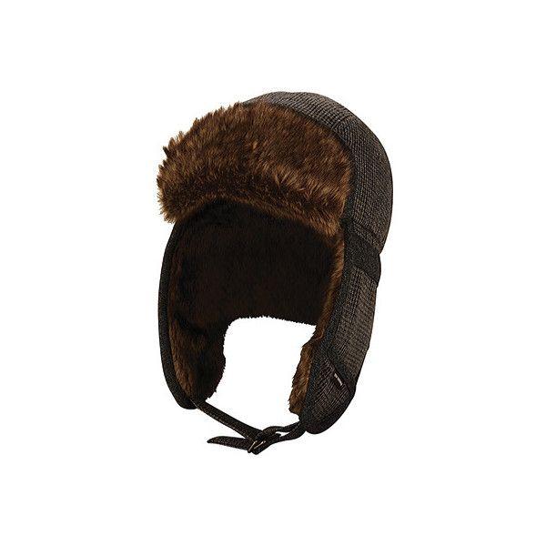 Men's Ben Sherman Wool Trapper - Staples Navy Wool Hats ($60) ❤ liked on Polyvore featuring men's fashion, men's accessories, men's hats, blue, mens ear flap hats, mens earflap hat, mens wool hats and mens hats