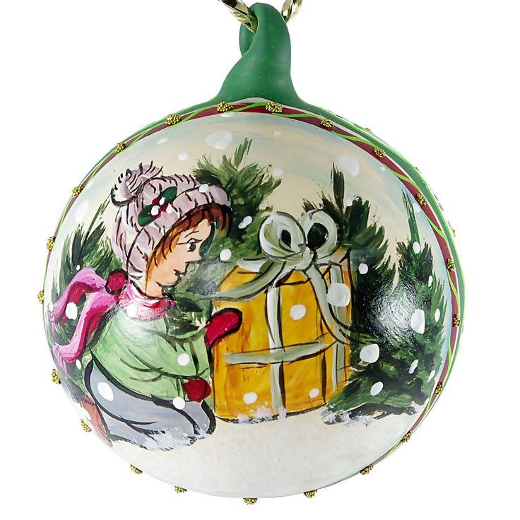 Blown Glass Christmas Tree Ornaments