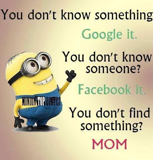 Thank God for #Moms.