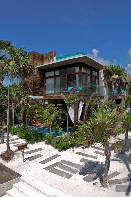 Argentinian architect Sebastian Sas...Be Tulum