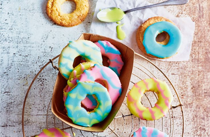 The classic party ring biscuit has been given a totally tropical twist with added desiccated coconut | Tesco