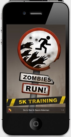 zombies 5k I have this app & the Zombies run and must say I am quite the fan of both =)