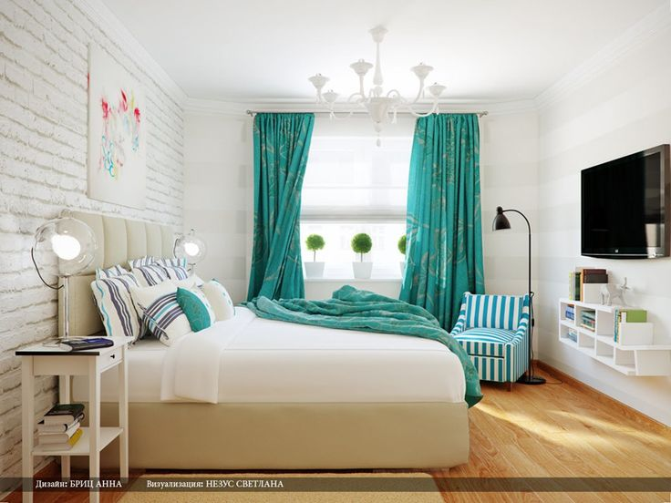 32 lovely turquoise bedroom design ideas - Ideen Minze Schlafzimmer Interieur