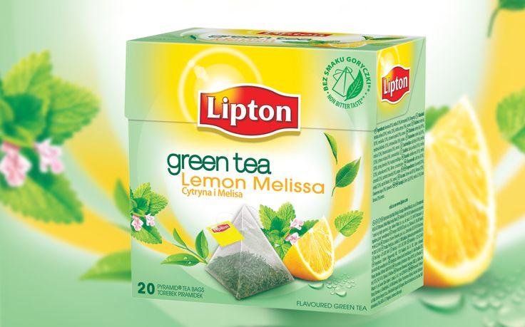Lipton Green Tea Cytryna Melisa